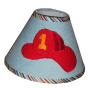 Lamp Shade for Fire Truck Baby Bedding Set By Sisi