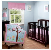 Baby Boom Owls in a Tree 3pc Crib Bedding Set