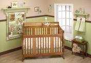 Little Bedding by NoJo Dreamland Teddy 10pc Nursery in a Bag Bedding Set