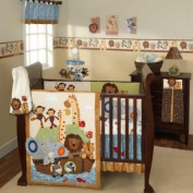 S.S. Noah 5 Piece Baby Crib Bedding Set by Lambs & Ivy