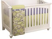 Cotton Tale Designs 3 Piece Crib Bedding Set, Periwinkle