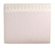 Glenna Jean Baby Ella Moire Headboard with Floral Embroidery (Available in Twin Only) *