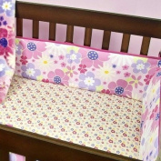 Wildflowers Cotton Crib Bumper
