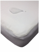 My Little Nest Cotton Waterproof Crib Mattress Pad
