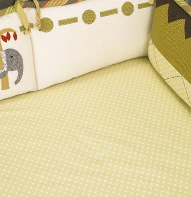 Cotton Tale Elephant Brigade Sheet