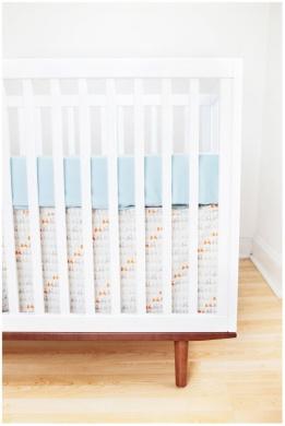 Finn + Emma Knit Sheet - Blue