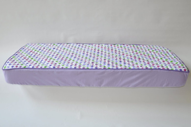 Botanical Purple Quilted Sheet