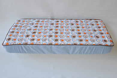 Mod Sports Blue Quilted Sheet