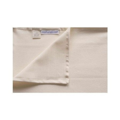 Organic Cotton Fitted Sheet for Crib 68.6cm x 132.1cm .