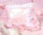 """Jessica McClintock Baby """"Blushberry Dream"""" Wee, Darling Pillow Decorative"""