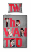 the Wanted 'Forever' Panel Single Bed Duvet Quilt Cover Set