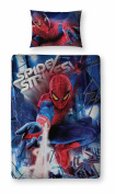 Spiderman 4 'Movie' 3d Panel Single Bed Duvet Quilt Cover Set