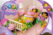 Dora the Explorer and Boots 10pc Crib Toddler Bedding Set in a Bag