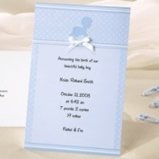 Wilton Crawling Baby Boy Birth Announcement Cards 50 Sets