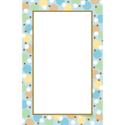 Tiny Toes Blue Baby Shower Printable Invitations 10 Pack