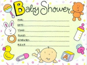 Baby Shower Invitations - 16 Cnt.