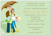 Hip Couples Baby Shower Invitations - Set of 20
