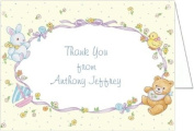 Baby Toys Montage Baby Thank You Cards - Set of 20
