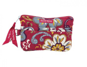 Sangria Quilted Cotton Gadget Pouch