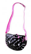 Hello Kitty Cross Black Patent Leather Body Purse