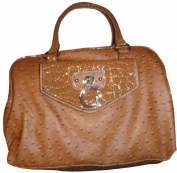 Women's Guess Purse Handbag Tamora Cognac