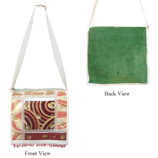 Velvet Shoulder Bags To Keep Tuition Or Office Books With Inner PU Lamination