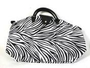 NF1ZEP - Zebra Print Small Fold-Up Bag
