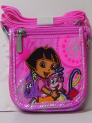 Dora the Explorer and Boots Pink Wallet Purse W/shoulder Strap