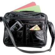 EmbassyTM Italian StoneTM Design Genuine Leather Tote Bag