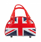 United Kingdom British Union Jack Mini Bowling Bag Purse