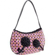 Vera Bradley Frill Collection - Tied Together Hobo Bag in Poppy Fields