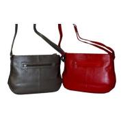 Metal Pin Studded Leather Handbag Color