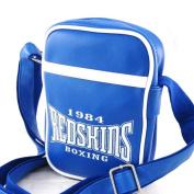 """Shoulder bag """"Redskins"""" electric blue."""