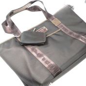 """Shopping bag """"Ted Lapidus"""" brown."""