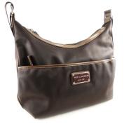 "Shoulder bag bag ""Ted Lapidus"" brown."