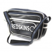 """Shoulder bag """"Redskins"""" black (a4)."""