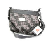 "Shoulder bag ""Jacques Esterel"" dark grey."