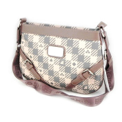 "Shoulder bag ""Jacques Esterel"" gray pink."