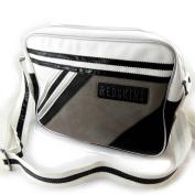 """Shoulder bag """"Redskins"""" black white."""