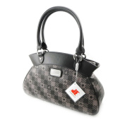 "Shoulder bag bag ""Jacques Esterel"" dark grey."