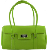 Rafe Women's Green Leather Shoulder Bag