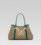 Gucci 'GG Twins' Medium Tote with Interlocking G Details