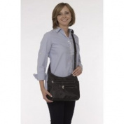 Smart Bag On-The-Go BLACK with White Contrast Stitching