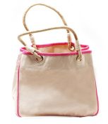 CB Station - Reliable Rope Tote- HOT PINK Canvas Bag