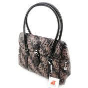 "Bag ""Jacques Esterel"" brown."