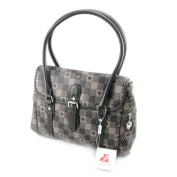 "Bag ""Jacques Esterel"" dark grey."