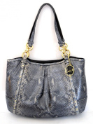 Coach Alexandra Chain Embossed Exotic Tote 22231