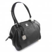 "Leather bag ""Ted Lapidus"" black."