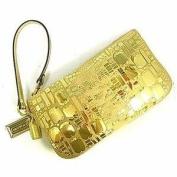 COACH POP OCCASION LARGE WRISTLET 43778 GOLD