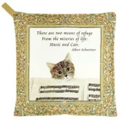 Musical Cat - Kitchen Potholder